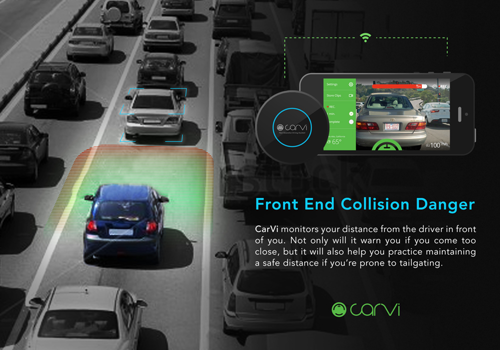 CarVi Front End Collision Prevention