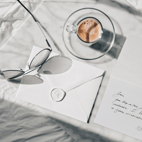 Handwritten Card Lifestyle Shot
