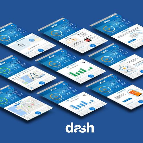 Dash Screenshot Collage