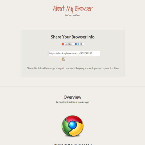 Desktop Browser