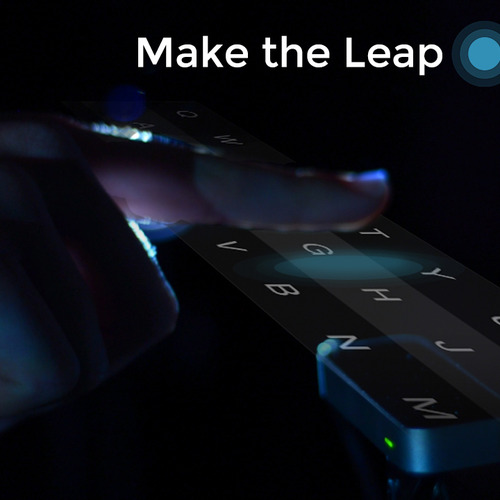 Fleksy on Leap Motion. Type in the air!