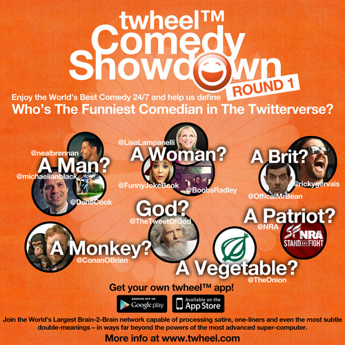 twheel™ Comedy Showdown