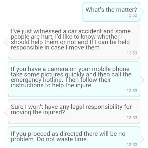AirPersons Android App screenshot 5 (English)