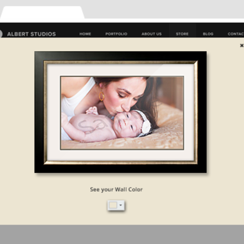 "Site Example - ""See it on your wall"""