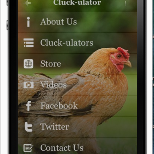 Cluck-ulator Splash Screen
