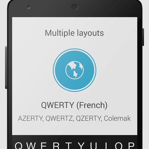 QWERTY French Layout
