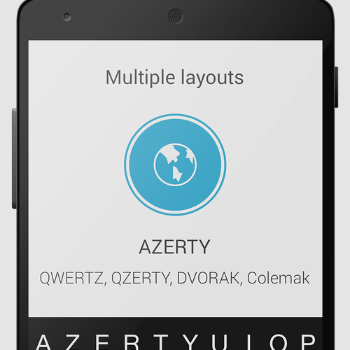 AZERTY Keyboard Layout