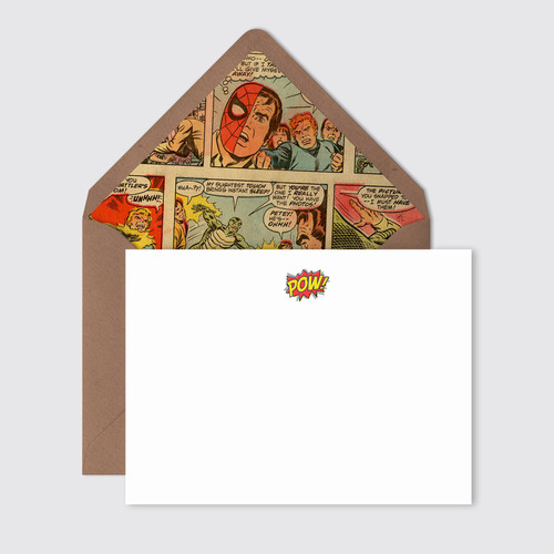 Marvel Comic lined Envelope