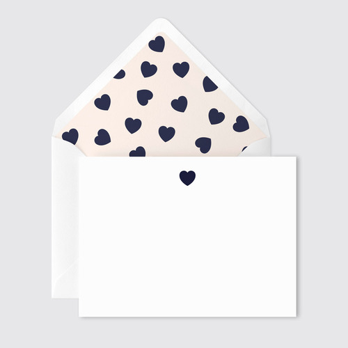 Hearts Stationary