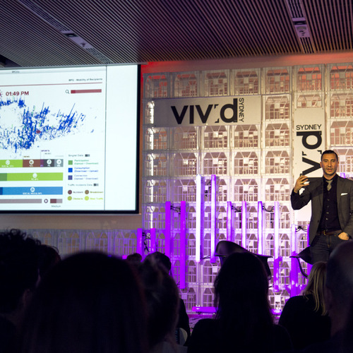 Nico presents at Vivid Sydney