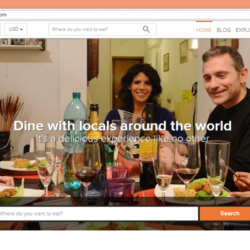 Dine with locals around the world