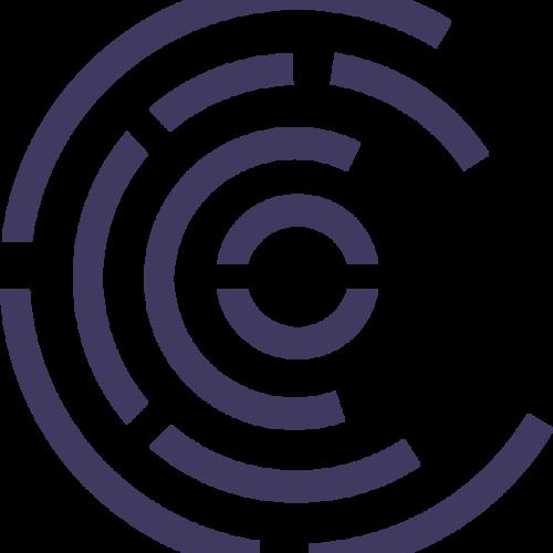 Wqu radial icon purple rgb