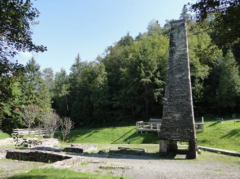 cheminee-lieu-historique-forges-du-saint-maurice