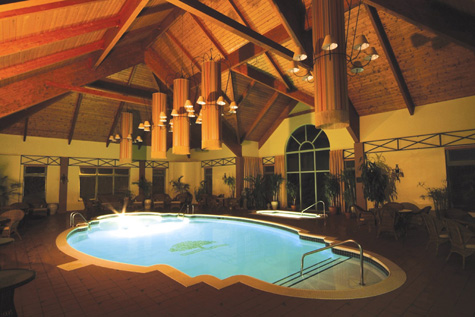 Centres de sant en mauricie massages soin de beaut for Hotel piscine interieur