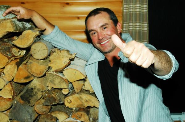 Cyril Chauquet peche la truite au Quebec en Mauricie 1