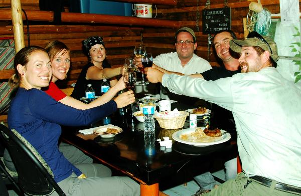 Cyril Chauquet peche la truite au Quebec en Mauricie 3