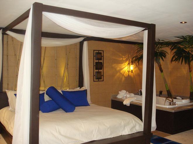 chambre tiki suite hotel motel coconut