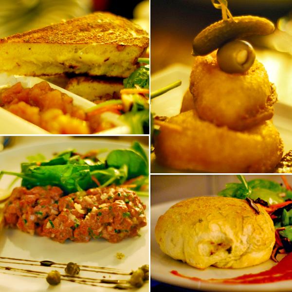 menu restaurant temps dune pinte