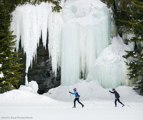 ski de fond falaises parc de la mauricie