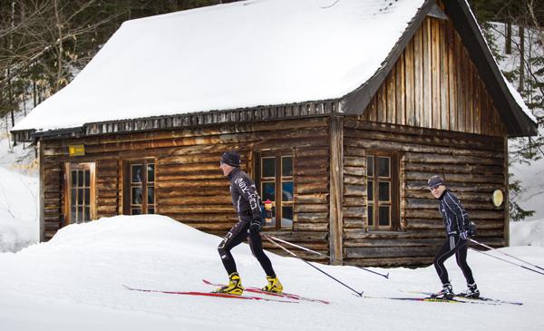 ski de fond parc de la mauricie cabane