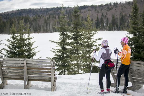 ski de fond parc de la mauricie