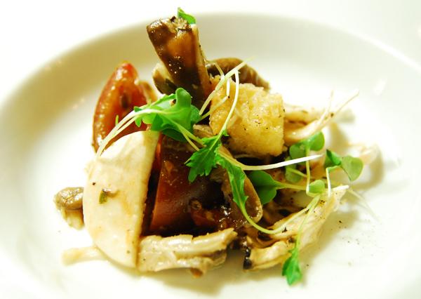 La cuisine gastronomique de l auberge le baluchon de st for Entree gastronomique