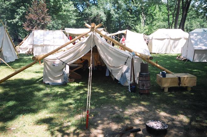 2005 _ Coureurs des bois - tente