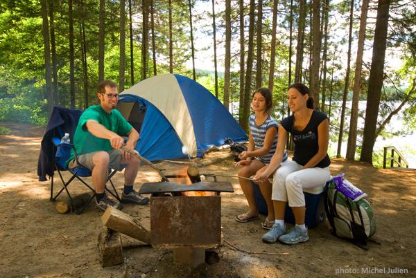 Parc national de la mauricie camping
