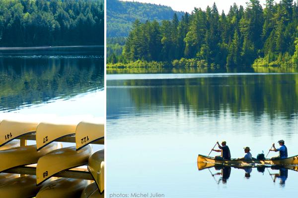 Louer un canot, un kayak ou un SUP... une belle façon de profiter du lac !