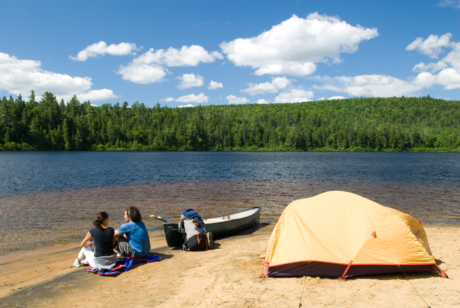 camping-parc-national-Mauricie