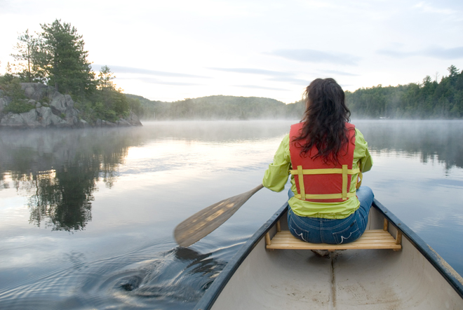 canot-camping-mauricie