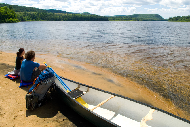 parc-national-mauricie-canot-camping