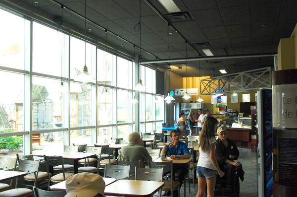 Le restaurant de la Cité de l'énergie