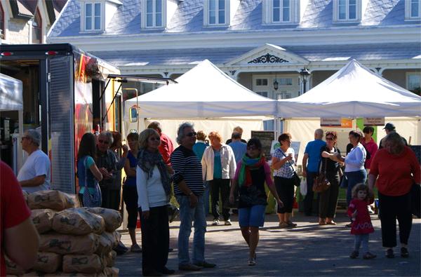 marché public de yamachiche