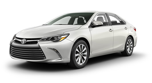 2017 Camry XLE in Blizzard Pearl