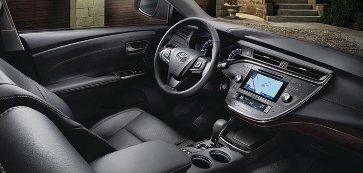 Premium Leather Seat Interior.