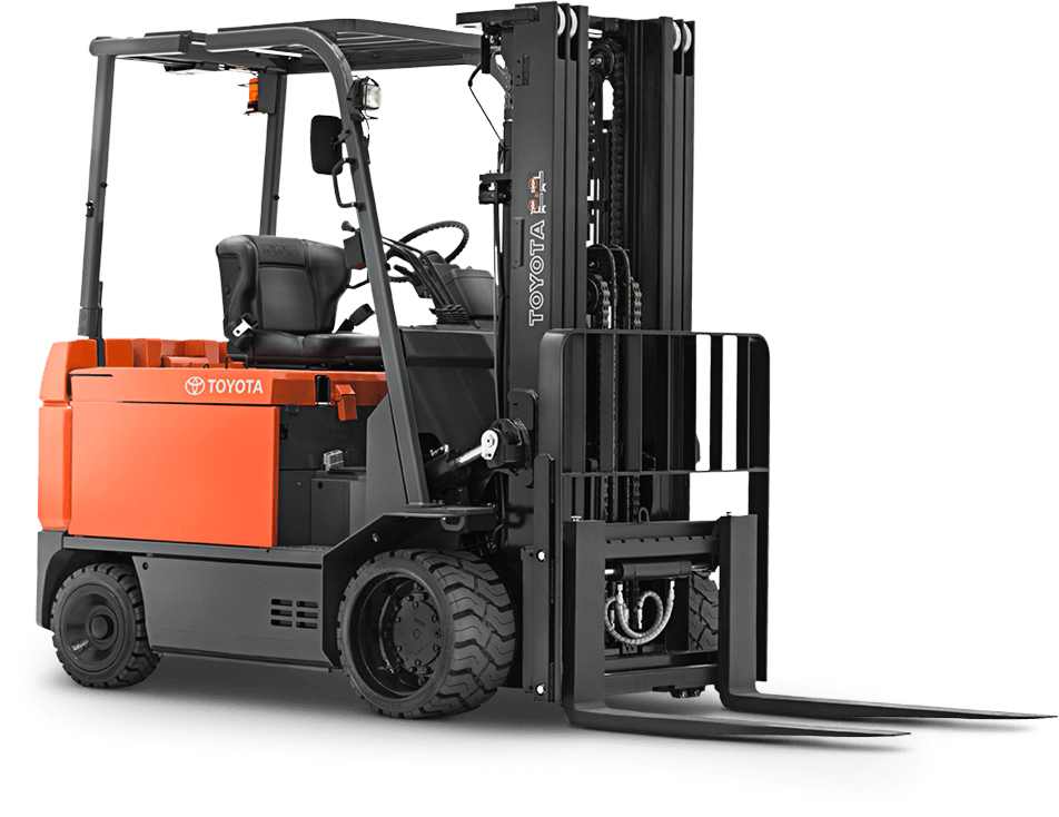 Large Electric Forklift Toyota Forklifts