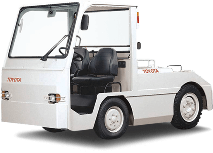 Large Tow Tractor Toyota Forklifts