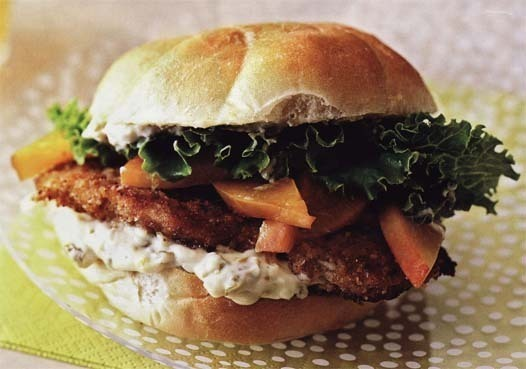 Georgia Peach Chicken Sandwich recipe