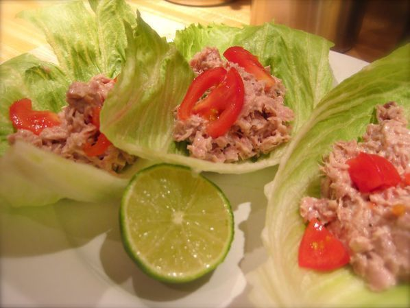 Tuna Wrap Salad recipe