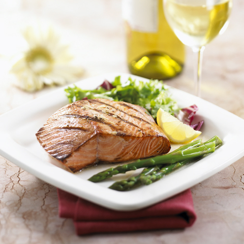 Grilled Salmon with Lemon and Ginger recipe