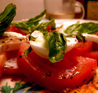 Insalata Caprese (Mozzarella Salad) recipe