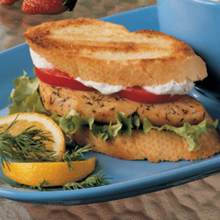 Dilly Chicken Sandwich recipe