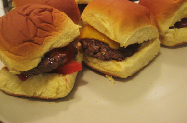 Mini Hamburgers a.k.a. Sliders recipe