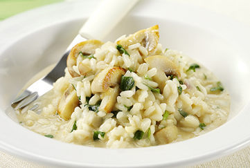 Creamy Mushroom Risotto recipe