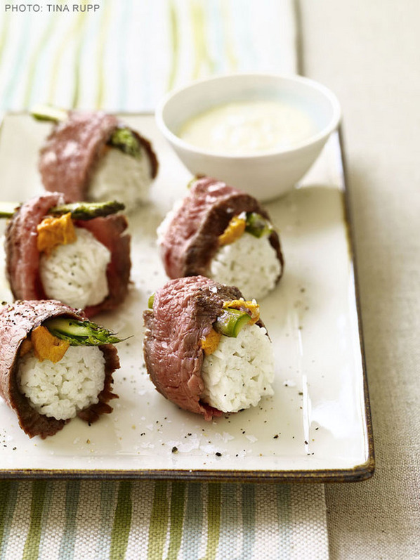 Southern-Style Sushi recipe