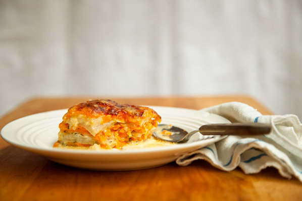 Sweet Potato and Turnip Gratin   recipe