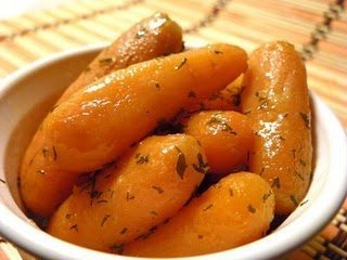 Honey Glazed Herbed Carrots recipe