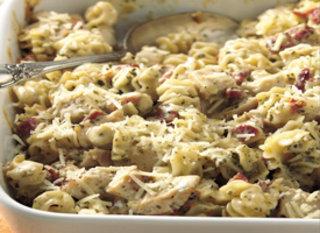 ... Planner - Recipe - Creamy Pesto-Chicken Casserole by Rachmclaughlin