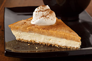 Philadelphia 3 step Pumkin Layer Cheesecake by Kelly Hogue - Recipe ...